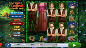 Hansel and Gretel Treasure Trail Slot