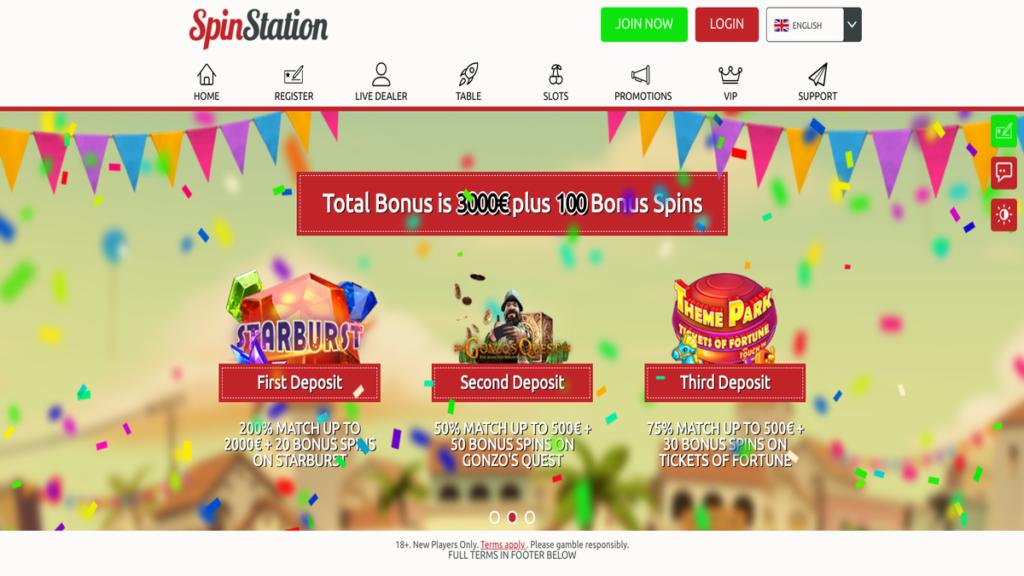 SpinStation anmeldelse vurdering casino jackpot