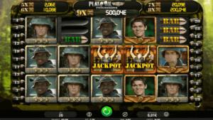 Platoon Wild Progressive Slot
