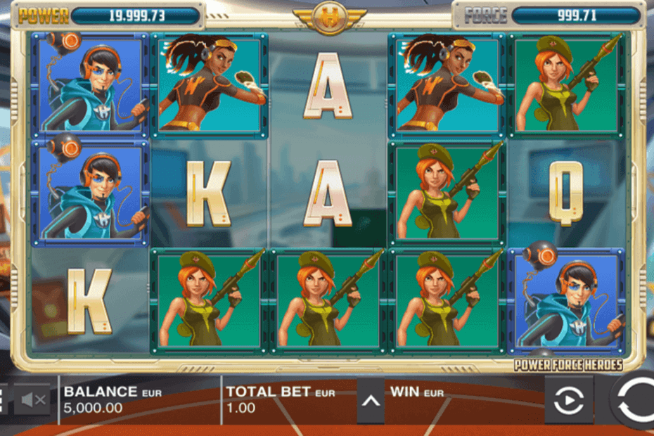 Power Force Heroes Slot
