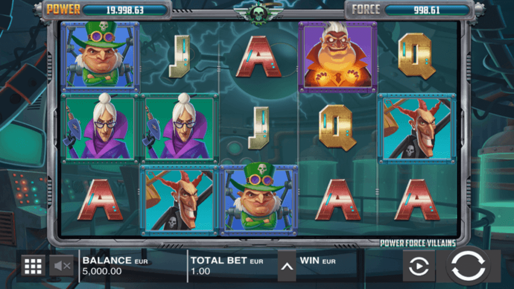 Power Force Villains Slot