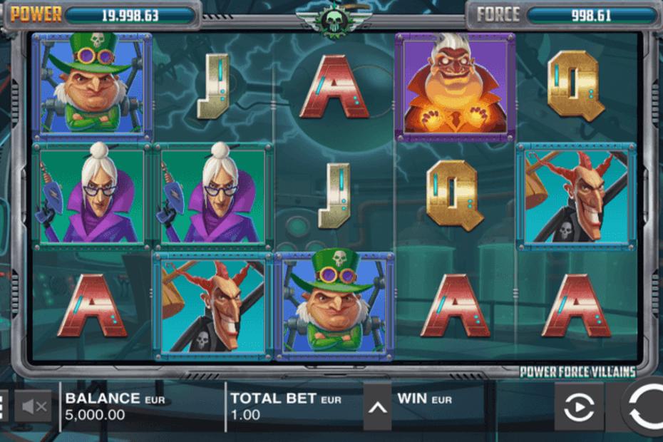 Power Force Villains Slot