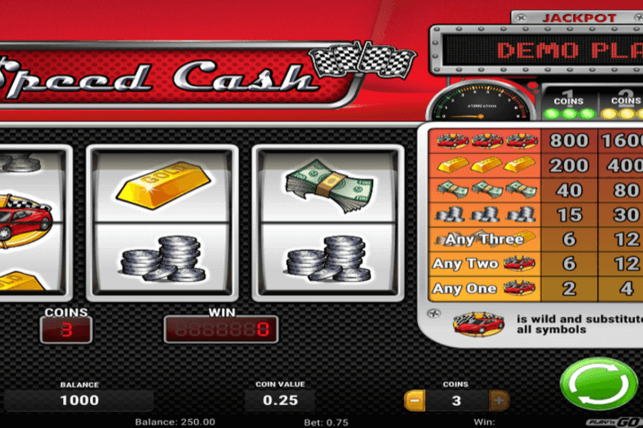 Speed Cash Slot