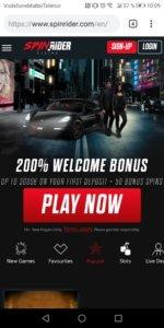 SpinRider Mobile Casino