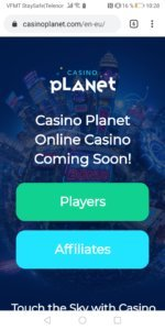 Casino Planet mobilcasino mobile casino
